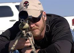 American Hero Chris Kyle kills 250 people