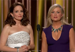 Fey and Poehler Golden globes monologue