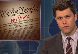 SNL, NO HOMOS Constitution