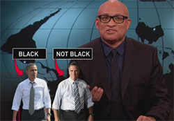 larry wilmore voted for obama because he was black