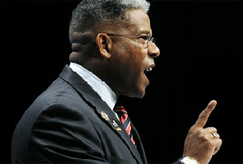 Allen West Angry Tea Party Type