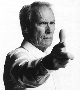 CLINT Eastwood will shoot you