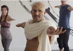 If Gandhi Took A Yoga Class in the U.S.  College Humor