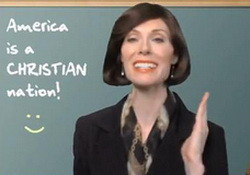 Betty Bowers:America is a Christian Nation If You Ignore All the Facts