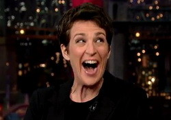 Rachel Maddow on Hillary, Palin and the 2016 Election - David Letterman