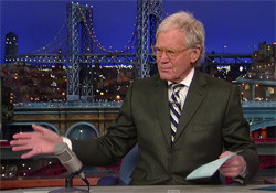 david letterman Brian William lies