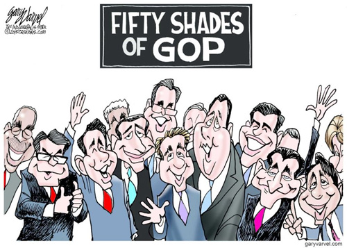 50 shades of the GOP
