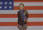 Obama does Patton