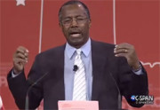 Is Ben Carson the CPAC head clown?