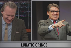 Rick Perry lunatic fringe