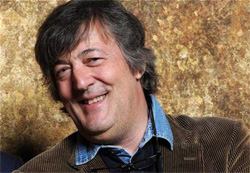 Stephen Fry Lets God have it