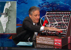 Jon Stewart the Jews are calling