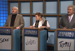 SNL 40th, Celebrity Jeopardy with Will Ferrell