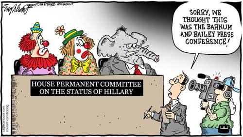 GOP committee on Hillary