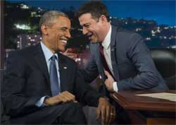 Obama and kimmel ferguson