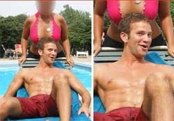 aaron schock with boobsa