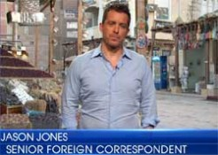 Jason Jones leaves the Daily Show