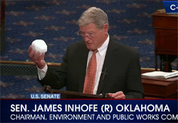Jon stewart makes fool of Senator Inhofe