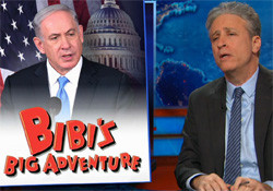 Jon Stewart Bibi's big adventure