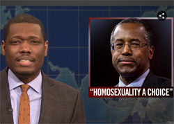 SNL Ben Carson is a complete idiot