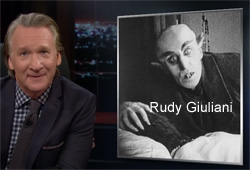 Bill Maher New Rules with Rudy