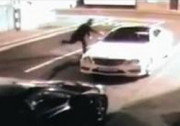 Mercedes Defeats Brick Throwing Thief In a Knock Out