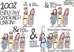 Biblical unions that are OKAY