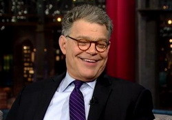 David Letterman & Al Franken on Indiana Gov Mike Pence