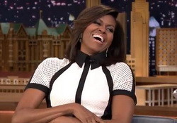Michelle Obama Gives Jimmy Fallon Hilarious Parenthood Tips