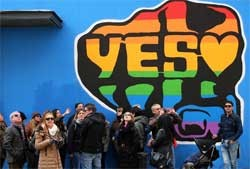 Ireland votes YES on gay marriage