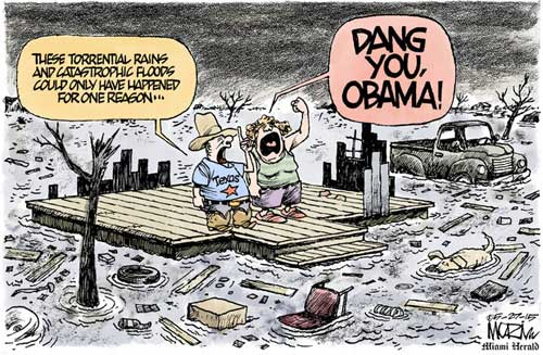 Texas Flooding Obama