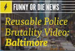Reuseable Police Violence video