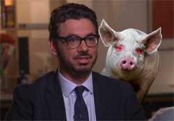 Al madrigal and the devil pig of Iowa