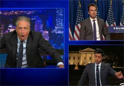 Donald Trump enters race, Daily show comedians reach orgasm