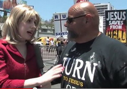 Tea Party Report: Gay Pride Week , Takin' Down the Gays   NSFW  Ruben Israel, Straights Protest Too Much