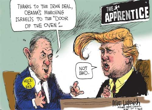 Mike Huckabee out does The Donald and it works!