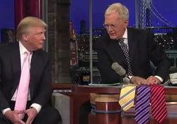 David Letterman Owns Donald Trump for Using Cheap Chinese Labor