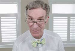 Bill Nye Reads mean tweets about himself