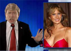 Donald Trump and his wife hotter than Megan Kelly