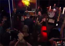 Bruce Springsteen BORN TO RUN goodbye to Jon Stewart