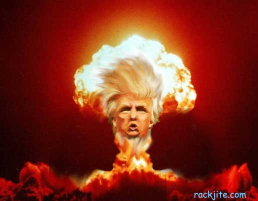 Donald Trump goes nuclear