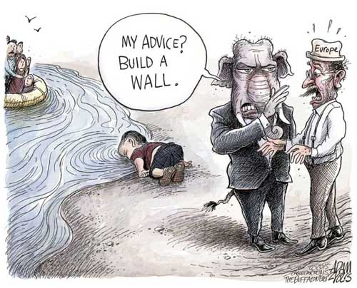 Republicans best advice to Europe, BUILD A WALL