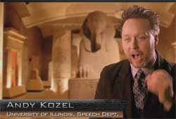 ancient aliens gave us comedy
