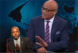 Larry Wilmore, Ben Carson, Muslims and the Constitution