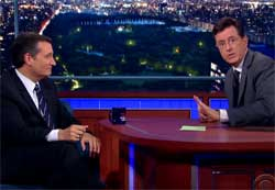 Stephen Colbert asks audience not to boo Ted Cruz