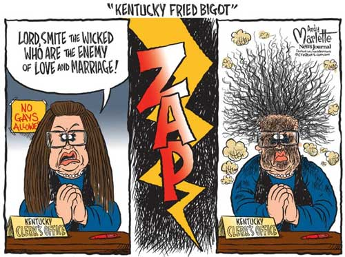 Kim Davis, Kentucky Fried Bigot