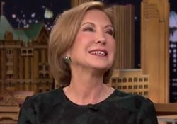 Jimmy Fallon & Carly Fiorina:  Muslim President, Pope  & Hewlett-Packard Who Fired All of those Americans?