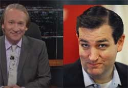 Bill Maher, Ted Cruz wears bra and panties under his clothes