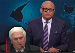 Larry Wilmore, Planned Parenthood Cecil Richards suffers lying Republican Aholes