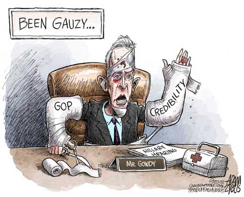 So much for Trey Gowdy and the 9th Benghazi committee